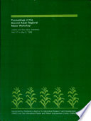 Proceedings of the Second Asian Regional Maize Workshop