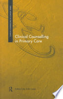 Clinical Counselling In Primary Care