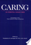 Caring An Essential Human Need