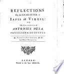 Reflections on the Character of Iapis in Virgil