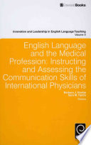 English Language and the Medical Profession