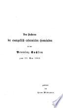 Die Zöglinge Calvin's in Halle an der Saale