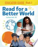 Read For A Better World Educator Guide Grades Prek 1
