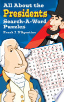 All about Presidents Search a Word Puzzles