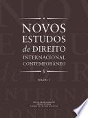 Novos estudos de direito internacional contemporâneo -