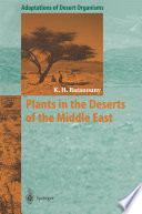 Plants in the Deserts of the Middle East Know That Not Many Readers Will Read