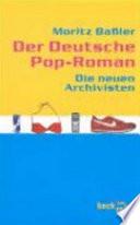 Der Deutsche Pop Roman