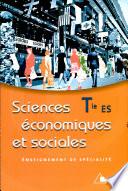 illustration Sciences économiques et sociales, Tle ES