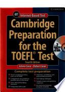 Cambridge Preparation For The Toefl Test 4th Ed Jolene Gear Robert Gear