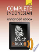 Complete Indonesian Bahasa Indonesia Teach Yourself