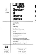McGraw-Hill Directory of Electric Utilities