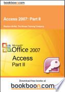 Access 2007  Part II