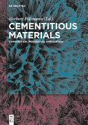 download ebook cementitious materials pdf epub