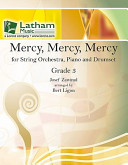 Mercy Mercy Mercy For String Orchestra Piano And Drumset