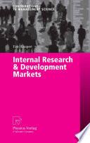 Internal Research   Development Markets