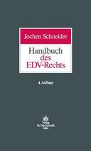 Handbuch des EDV-Rechts
