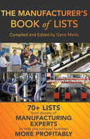 The Manufacturer s Book of Lists