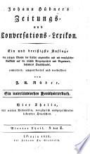 Zeitungs  und Conversations Lexikon