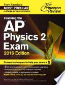 Cracking The Ap Physics 2 Exam