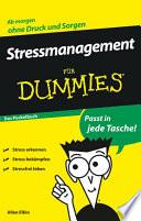 Stressmanagement für Dummies Das Pocketbuch