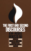 . The First and Second Discourses .