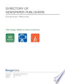 BoogarLists | Directory of Newspaper Publishers