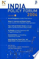 The India Policy Forum 2004