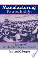 Ebook Manufacturing Knowledge Epub Richard Gillespie Apps Read Mobile