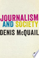 Journalism and Society