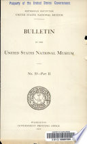 Catalogue Of The Type And Figured Specimens Of Fossils Minerals Rocks And Ores In The Department Of Geology United States National Museum Fossil Vertebrates Fossil Plants Minerals Rocks And Ores 1907