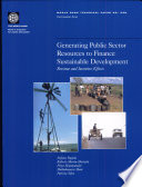 Generating public sector resources to finance sustainable development