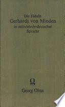 Fabeln in mittelniederdeutscher Sprache