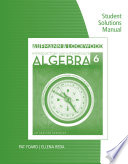 Student Solutions Manual For Aufmann Lockwood S Introductory And Intermediate Algebra An Applied Approach 6th