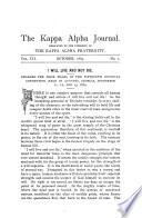 The Kappa Alpha Journal