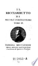 Parnaso  Parnasso  italiano ovvero raccolta de poeti classici italiani