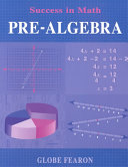 Success in Math   Pre Algebra