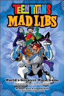 Teen Titans Mad Libs