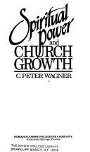 Spiritual Power And Church Growth