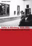 Kultur in N  rnberg 1918 1933