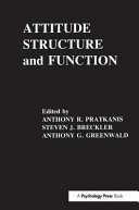 Attitude Structure and Function
