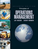Principles of Operations Management and Student CD and DVD Value Package  includes Study Guide
