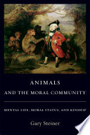 Animals and the Moral Community Free download PDF and Read online
