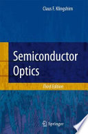 Semiconductor Optics : an introduction to and an overview of...