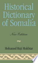 Historical Dictionary of Somalia