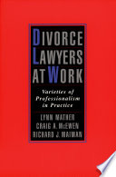 Divorce Lawyers At Work