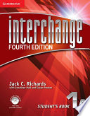 Interchange Level 1 Student s Book A with Self study DVD ROM