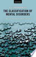 A Companion to the Classification of Mental Disorders