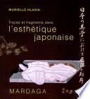 Traces et fragments dans l esth  tique japonaise