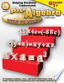 Helping Students Understand Pre Algebra  Grades 7   8