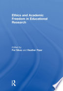 Ethics and Academic Freedom in Educational Research